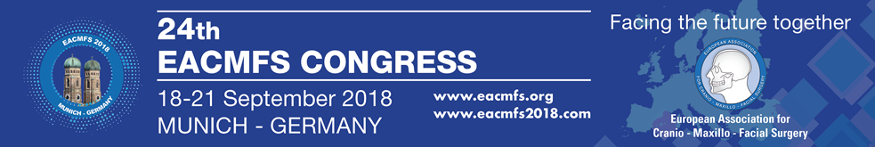 24th Congress of the European Association for Cranio Maxillo Facial Surgery  18-21 September 2018 - Munich - Germany